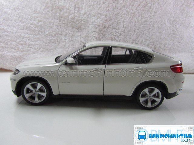 MÔ HÌNH BMW X6 WHITE 1:24 - WELLY