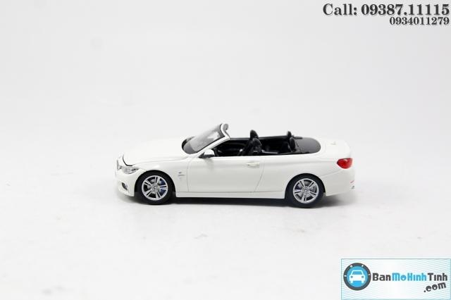 XE MÔ HÌNH BMW M4 CABRIOLET WHITE