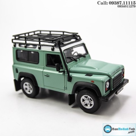 MÔ HÌNH LAND ROVER DEFENDER OFFROAD EDITTION LIGHTGREEN 1:24 WELLY