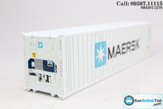 MO HINH CONTAINER - MAESK