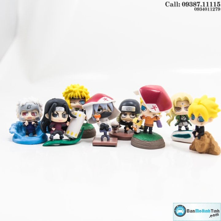 FIGURE SET BORUTO TO NARUTO CHIBI NEXT GENERATION