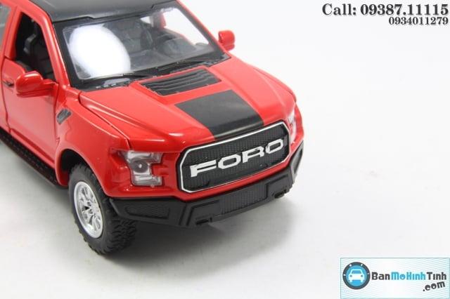 XE MÔ HÌNH-FORD RAPTOR F150 RED