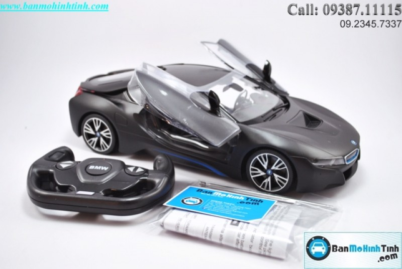 BMW I8 BLACK 1:14 RASTAR