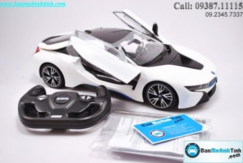 BMW I8 White 1:14 Rastar