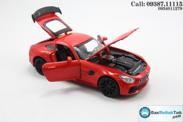 Mô hình xe ô tô XE-MERCEDES AMG GT RED