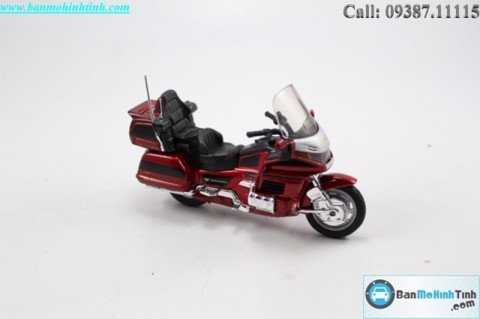 MÔ HÌNH  HONDA GOLD WING RED 1:18 WELLY