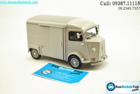 Mô hình xe ô tô XE Mô hình xe ô tô XE CITROEN TYPE H GREY 1:24 WELLY