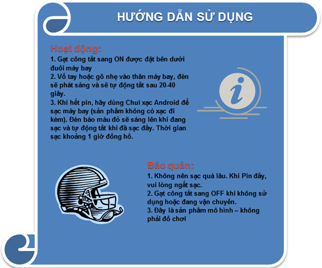 HUONG DAN SU DUNG MAY BAY CO DEN LED