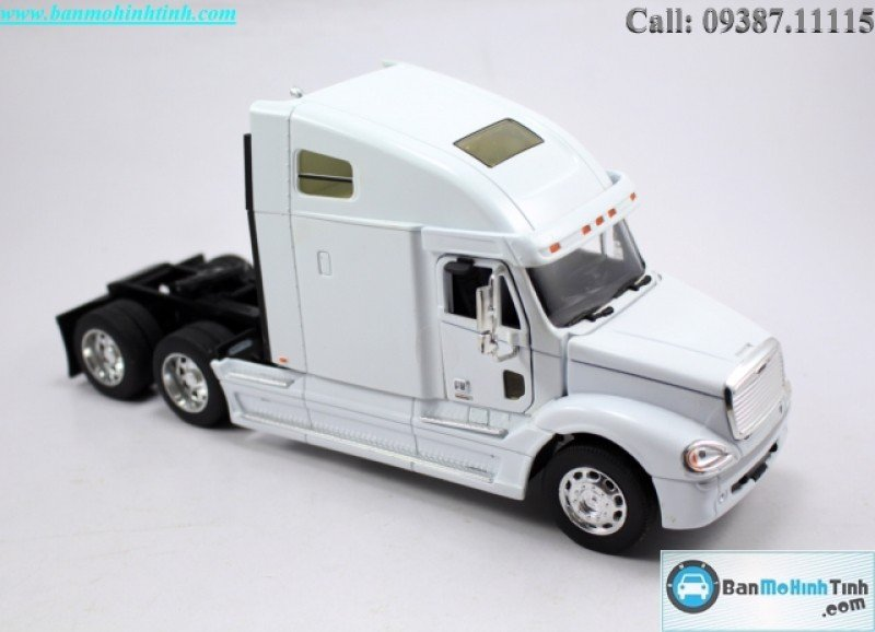 MÔ HÌNH FREIGHTLINER COLUMBIA WHITE 1:32 WELLY