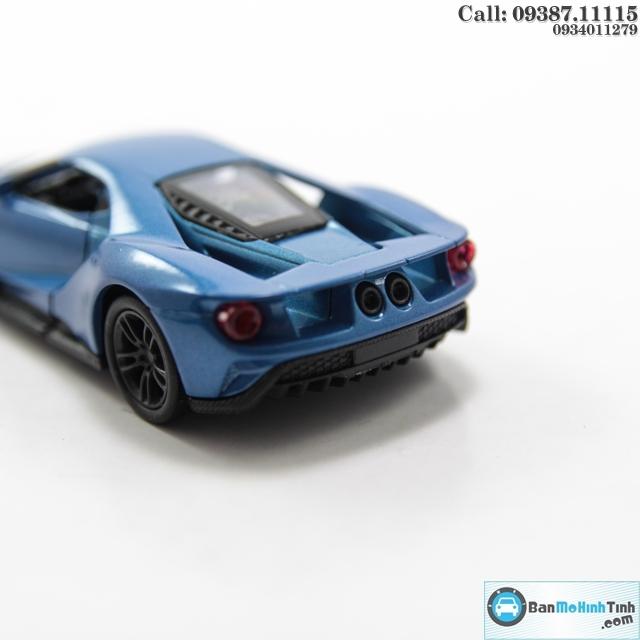 MÔ HÌNH XE FORD GT 2017 BLUE