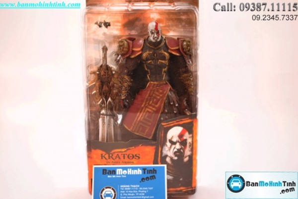 Mô hình God Of War Set C