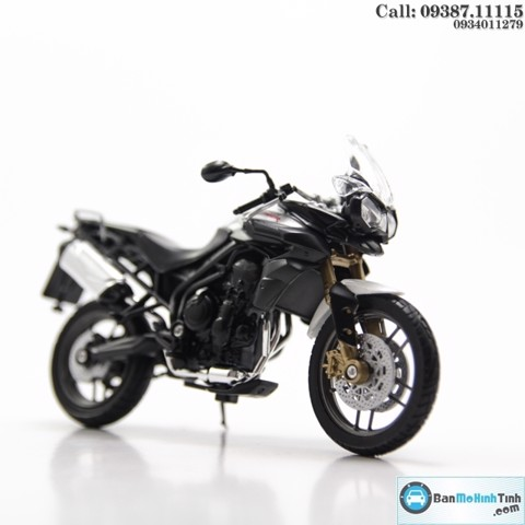 MÔ HÌNH TRIUMPH TRIUMPH TIGER 800 WHITE 1:18 WELLY-12835