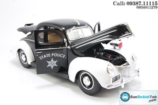 MO HINH XE CO FORD DELUXE POLICE