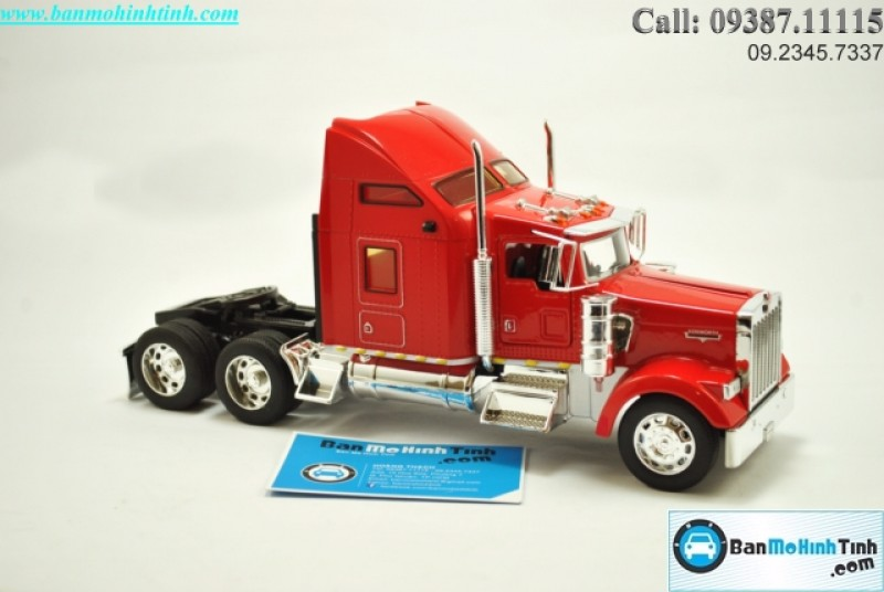 MÔ HÌNH KENWORTH W900 TRACTOR RED 1:32 WELLY