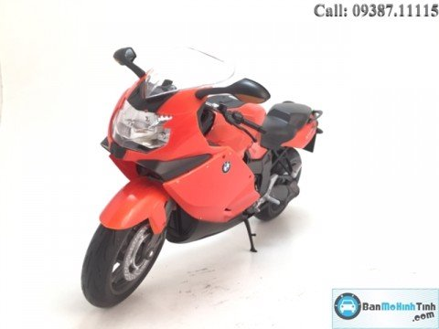MÔ HÌNH  BMW K1300S ORANGE 1:10 WELLY