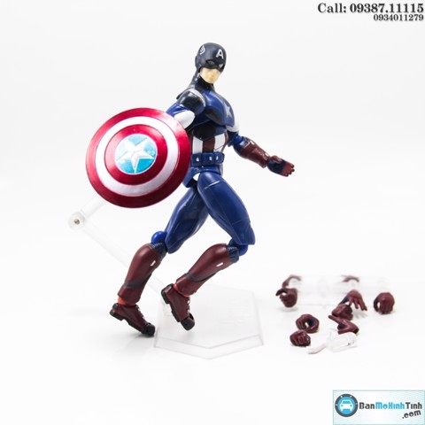 MÔ HÌNH CAPTAIN AMERICA THE AVENGER BY FM