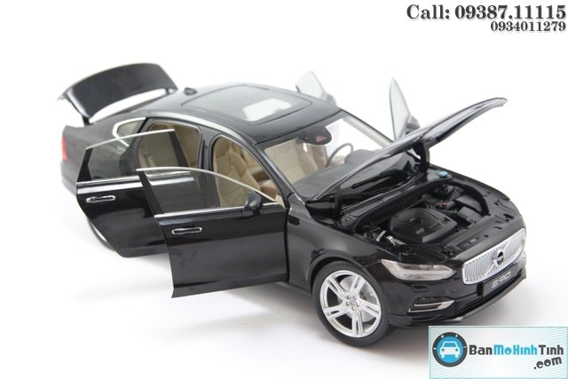 MO-HINH-OTO-VOLVO-S90-BLACK-118-DEALER