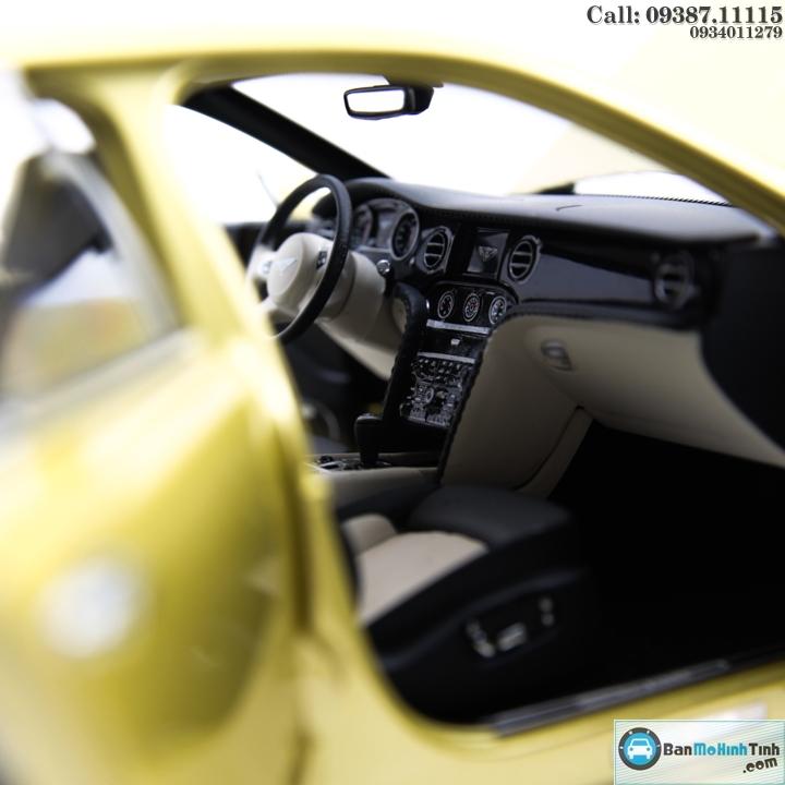 Mô hình xe ô tô XE BENTLEY-MULSANE SPEED YELLOW