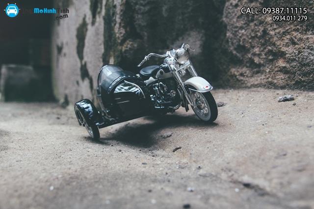 XE Mô hình xe mô tô DUO GLIDE-BIRCH 1958