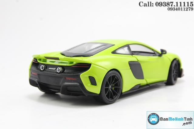 XE Mô hình xe ô tô MCLAREN 675LT WELLY