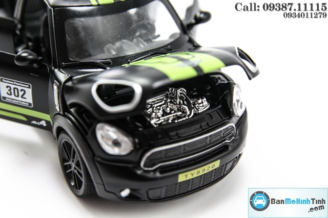 MO HINH XE MINI COOPER COUNTRY MAN