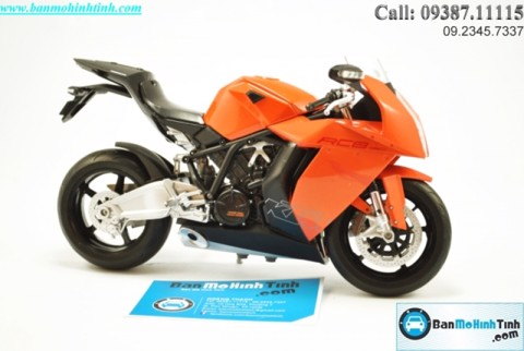 MÔ HÌNH  KTM RC8 R BLACK 1:10 WELLY
