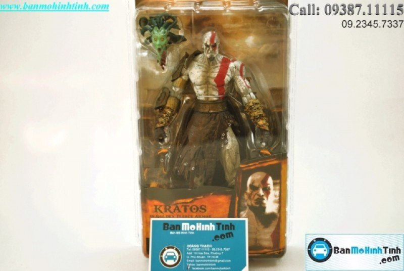 Mô hình God Of War Set B