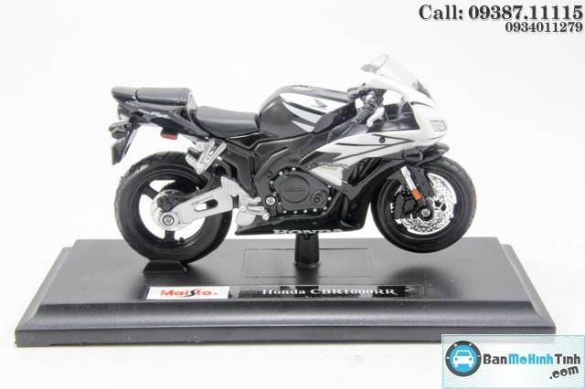 Mô hình xe mô tô MÔ TÔ-HONDA CBR600RR BLACK