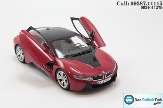 MO-HINH-OTO-BMW-I8-RED-118-PARAGON