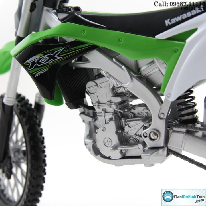 Mô hình xe mô tô XE MÁY KAWASAKI KX 250 2017