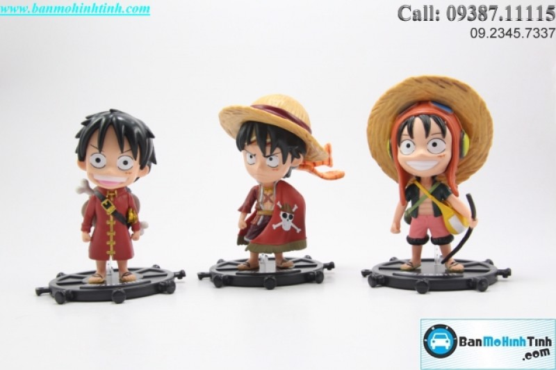 MÔ HÌNH SET MONKEY D.LUFFY (SET 3C)