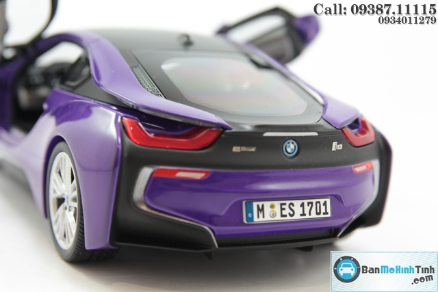 MO-HINH-OTO-BMW-I8-PURPLE-118-PARAGON