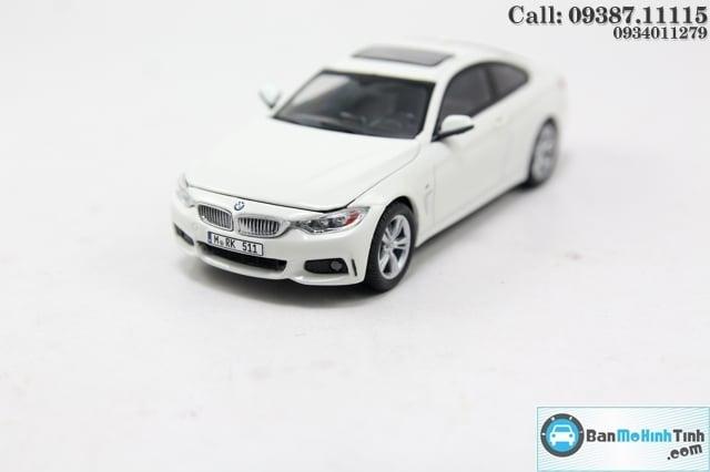 XE MÔ HÌNH BMW M4 COUPE WHITE