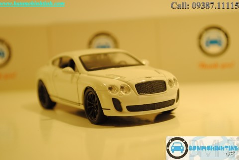 XE HƠI MÔ HÌNH BENTLEY SUPPERSPORT WHITE 1:36 WELLY