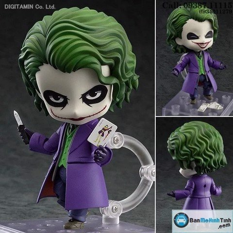 MÔ HÌNH JOKER-THE DARK KNIGHT TRIGOGY NENDOROID GSC