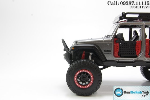 MO HINH DESIGN OFF ROAD ROAD KING JEEP WRANGLER