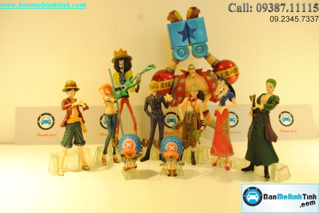 Mô hình nhân vật One Piece Set Battle Of Fish Man Island By Bandai