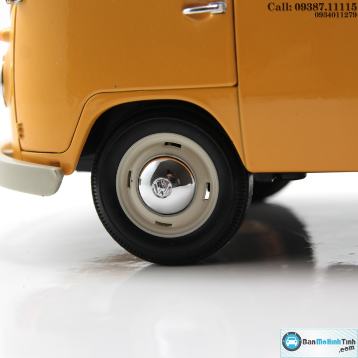 Mô hình xe ô tô XE VOLKSWAGEN T1 BUS YELLOW