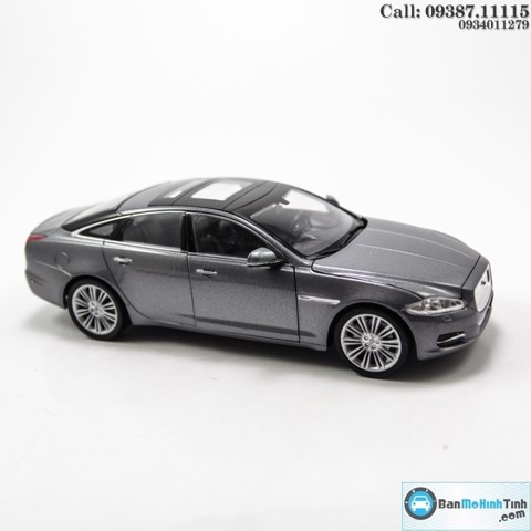 MÔ HÌNH JAGUAR XJ GREY 1:24 - WELLY