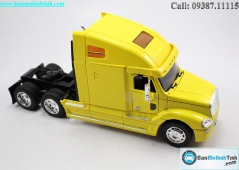 Mô hình Freightliner Columbia Yellow 1:32 Welly