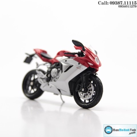MÔ HÌNH MV AGUSTA F3 800 RED 1:18 WELLY-12839