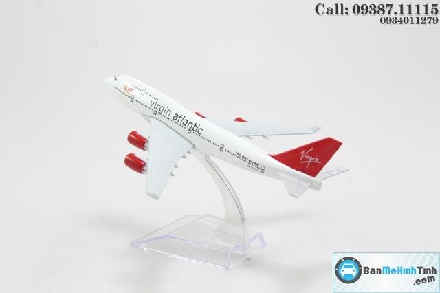 Mô hình máy bay-VIRGIN ATLANTIC 16CM