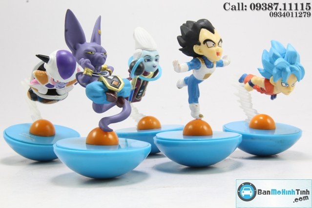 MO HINH NGUOI - DRAGON BALL SET 1