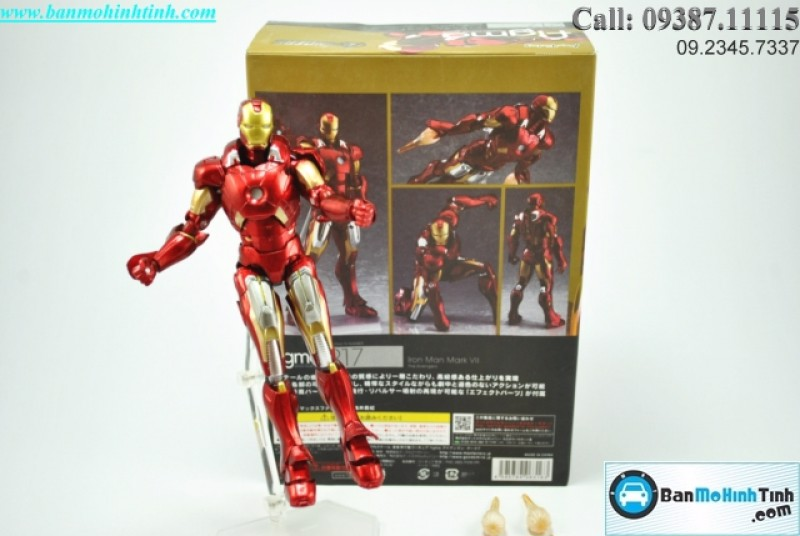MÔ HÌNH IRON MAN MADE BY FIGMA