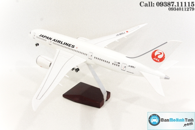 MO HINH MAY BAY CO DEN LED JAL JAPAN AIRLINE