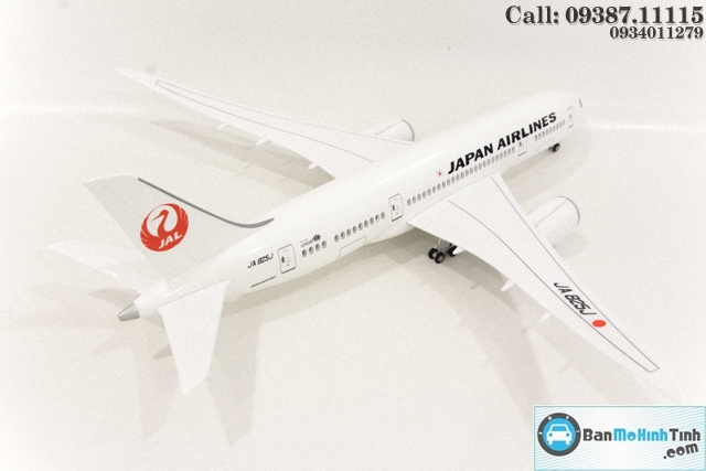 MO HINH MAY BAY CO DEN LED JAL JAPAN AIRLINE