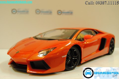 LAMBORGHINI AVENTADOR LP700-4 R/C ORANGE 1:14 MIX RC