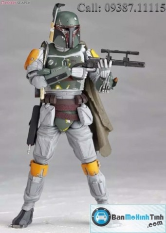 MÔ HÌNH BOBA FETT NO.005 STAR WARS FIGURE COMPLEX MADE BY KAIYOO