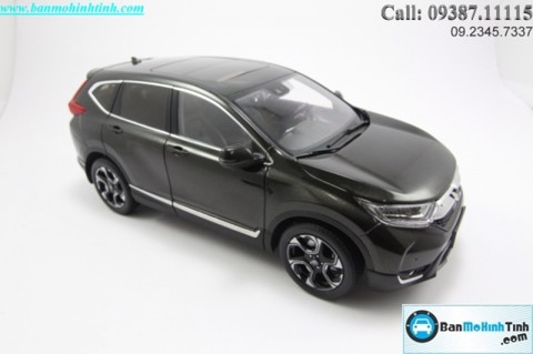 MÔ HÌNH HONDA CR-V ALL NEW 2018 DARK 1:18 PAUDI