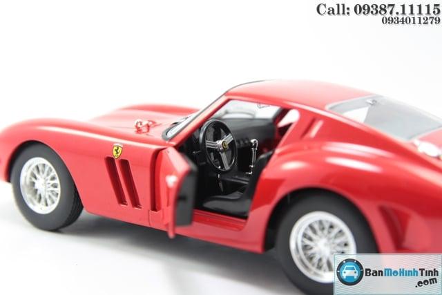 MÔ HÌNH SIÊU XE FERRARI 250 GTO RED 1:24 BBURAGO